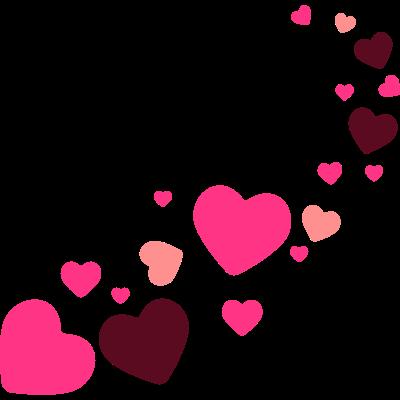 Magische Herzen -  - für immer,freedesigns17,cool,Vektor,Shape,People,Partner,Magie,Liebesperlen,Herz,Freundschaft,Form,Familie,Dekoration,Beste Freunde,Amor