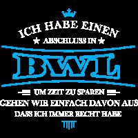 BWL Shirt-Abschluss
