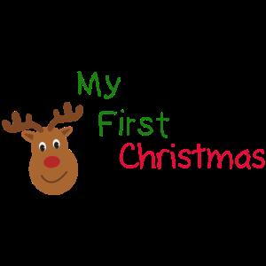 Erste Weihnachten, Kinder, Babybauch, Schwanger