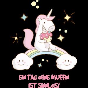 PRINTPAIR – Einhorn Muffin Liebe