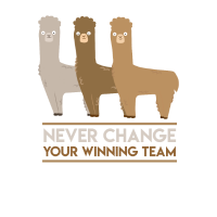 Alpaca Winning Team