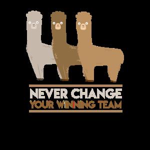 Alpaca Winning Team