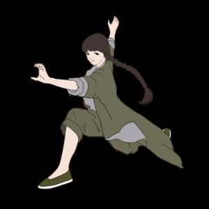 Kung Fu Mädchen