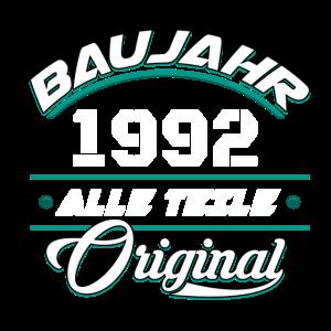 Baujahr 1992 Alle Teile original