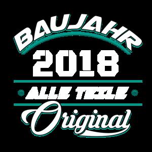 Baujahr 2018 Alle Teile original