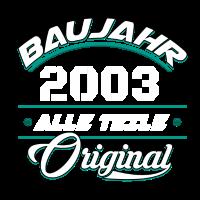 Baujahr 2003 Alle Teile original