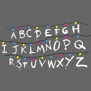 Stranger Things Alphabet
