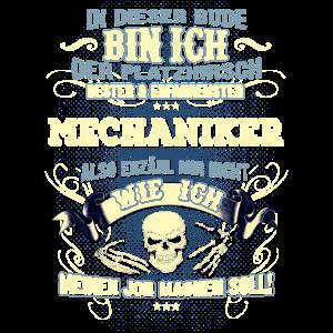 Edles Berufe-Shirt für den Mechaniker