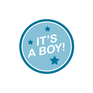 Es ist ein Junge Baby