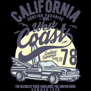 Kalifornien Westküste