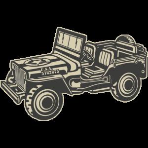 Amerikanischer Armee Jeep