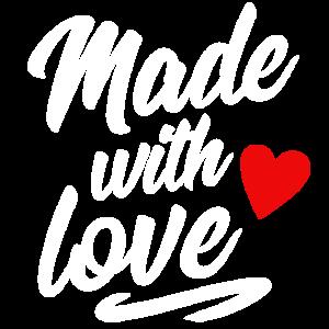 Made with love | Baby Geburt Strampler Geschenk