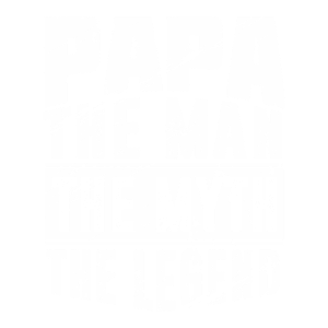 VATER: PAPA THE MAN THE MYTH THE LEGEND GESCHENK