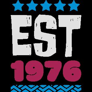 EST 1976 - ESTABLISHED IN 1976
