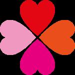 Klee pink orange