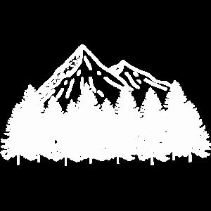 Bergliebe in weiß