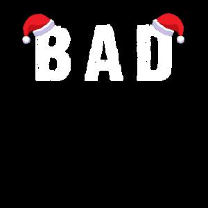 Weihnachten BAD Santa