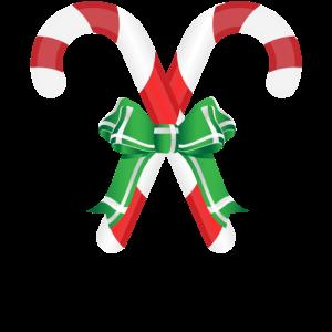 Weihnachts Zuckerstangen