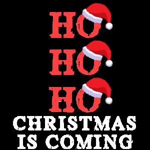 ho ho ho Weihnachten kommt