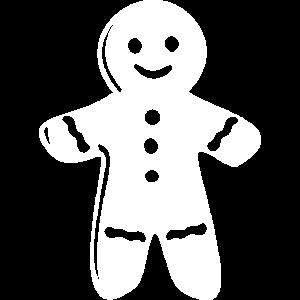 Lebkuchenmann Weiß
