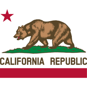 Nationale Flagge California