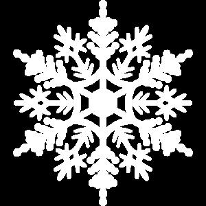 Schneeflocke Weiß