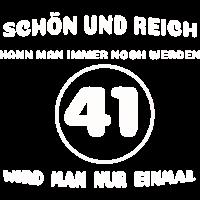 41. Geburtstag: Lustiger Spruch
