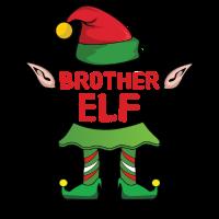 Brother Bruder Elf Weihnachten Familie Geschenk