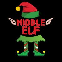 Middle Elf Weihnachten Familie Geschenk Xmas Gift