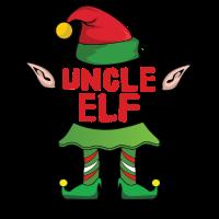 Uncle Onkel Elf Weihnachten Familie Geschenk Xmas