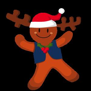 Weihnachten Lebkuchenmann