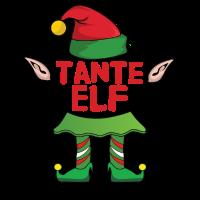Tante Aunt Elf - Weihnachten Familie Geschenk Xmas