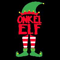 Onkel Uncle Elf Weihnachten Familie Geschenk Xmas