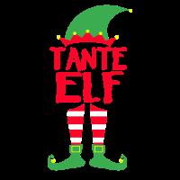 Tante Elf Weihnachten Familie Geschenk Xmas Gift