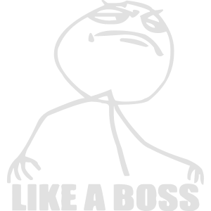 like a boss - boss shirt