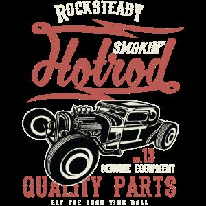 SMOKIN HOTROD - Vintage Hotrod Geschenk Shirt