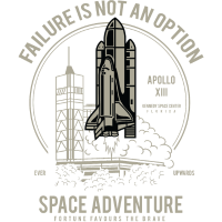 SPACE ADVENTURE - Space Shuttle Shirt Geschenk