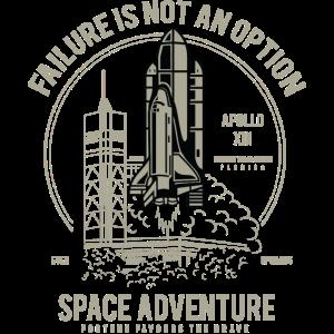 SPACE ADVENTURE - Space Shuttle Shirt Geschenk