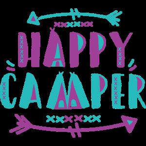 Camping Shirts - Happy Camper