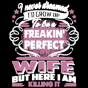 Familien-perfektes Ehefrau-Hemd
