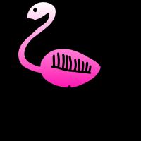 Vogel Pink Flamingo