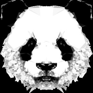 Geometrischer Panda