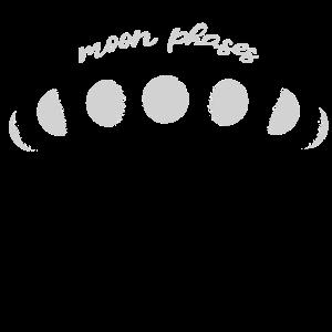 Mondphasen, moon phases,