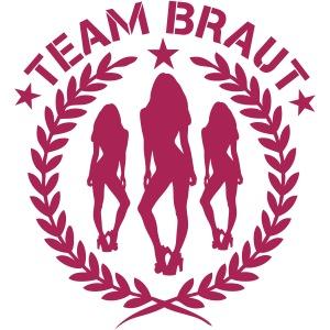 Team Braut - JGA - Junggesellinnenabschied