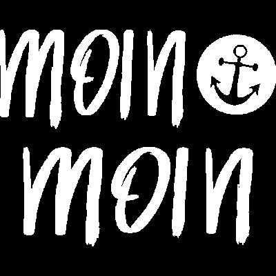 Moin Moin Anker Norddeutschland - moin moin - st pauli,seemannssprüche,nordisch,moin,küstenkind,kapitän,hansestadt,hamburg,bremerhaven,Norddeutschland,Hansestadt,Anker