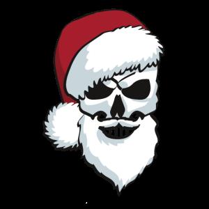 skull santa Weihnachtsmann