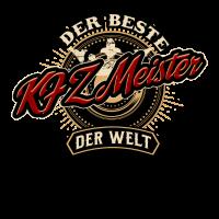 Der Beste KFZ Meister der Welt - Geburstags Geschenk RAHMENLOS