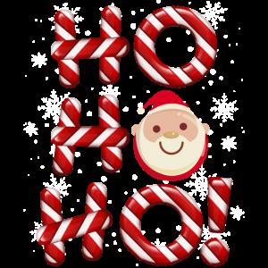 HO HO HO Weihnachtsmotiv