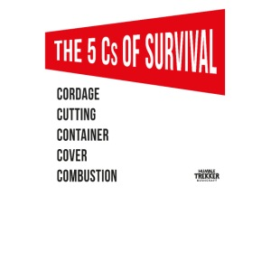 5Cs of Survival Red