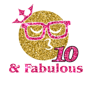 10 And Fabulous 10th Birthday Girl